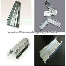 Yeso Drywall metal Stud y pista