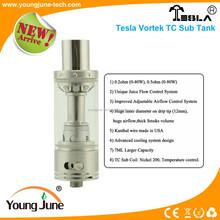 youngjune tech co. tesla vape mod sub ohm tank tesla vortek TC sub tank in stock
