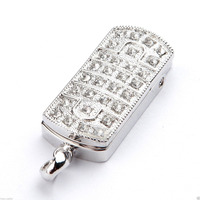 Top selling promotional gift jewelry diamond usb flash drive