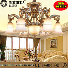 Retro Style Metal Ceiling Pendant Light ,led light with glass Lampshade