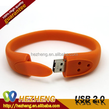 Bulk Cheap Promotion 16GB Bracelet Wristband USB Flash Drive