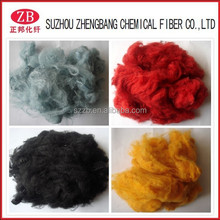 12d*38mm recycled regenerated pet fiber