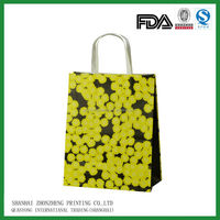 paper bag brand name customized paper shopping bag and shopping bag paper