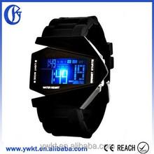 Elegant Plane Digital Watch for man, China Watch
