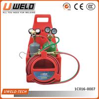 Ningbo UWELD Light Duty Portable Gas Welding Set with Oxygen/Acetylene Cylinders UW-1515-F