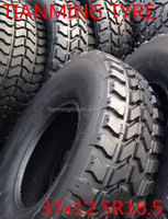 China wholesale cheap used military truck tires 37x12.5r16.5 for sale