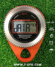 Big LCD 30 Lap Stopwatch with High Intensity Training Stopwatch, Countdown timer