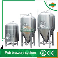 overseas service provided After-sales Service Provided and Alcohol Processing Types beer conical fermenter