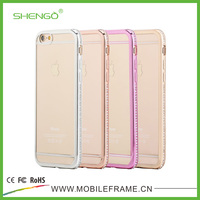 SHENGO 2015 New Arrival TPU Electroplate Phone Case for iPhone 6