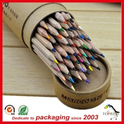 Eco packing new packaging custom pencil packaging tube box