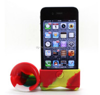 hot sell Silicon Mobile Sound Cell Phone Amplifier/Speaker For Iphone