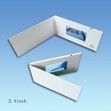 4.3 inch Customized TFT LCD screen video advertising card