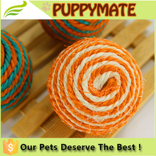 round shape lovely cheap soft dog toys/ pet products for sale