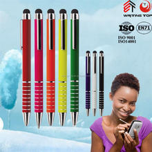 promotional aluminum touch screen ballpoint pen