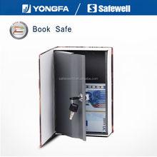 Safewelll RW802B Hidden Serect Diversion Dictionary Book Safe with Key Lock