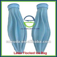 Latex Flocked Sport Ice Pack Bag for Pain Relief