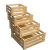 vintage low price unfinished wood vegetable crates for sale