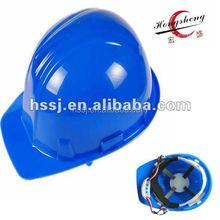 2015 hot selling blue safety helmet chin strap safety helmet construction & industry safety helmet