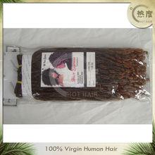 Top grade two tone virgin malaysian hair two tone curly hair weaving