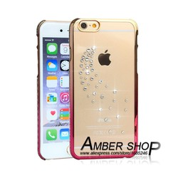 new products crystal phone case for iphone 6 starry sky wings pink cell phone protector alibaba express