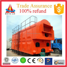 horizontal low pressure water and fire tube chain grate single drum low price coal / wood fired industrial steam boiler