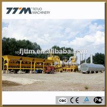 80t/h móvil de asfalto planta de maquinaria, planta de asfalto móvil, móvil planta de procesamiento por lotes para la venta