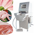 Máquina injetora de carne de frango totalmente automático