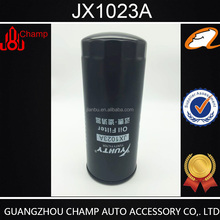 Guangzhou suppiler truck engine oil filter in auto oil filter JX1023A with high quality