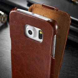 For Samsung Galaxy S6 edge ultra thin case PU case for Samsung S6 edge
