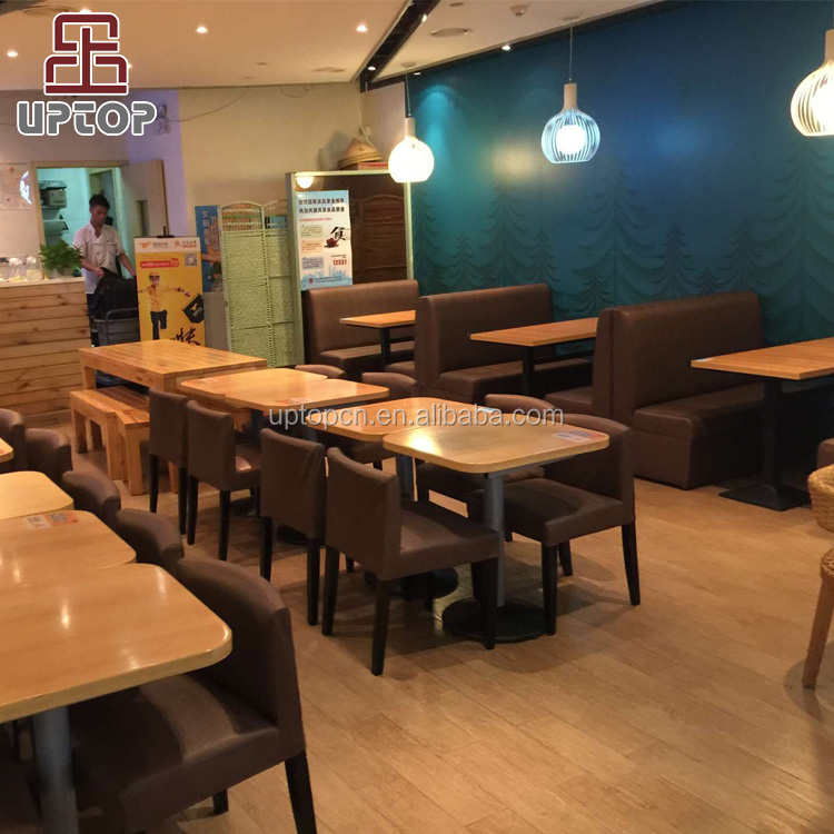 SP-CS378) Diseño moderno tapicería cafetería utiliza restaurante ...