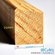 Fotos de madera marco interior al por mayor, marcos de madera para impresiones de la lona o la pintura de fotos y