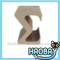 """""""M"""" Shaped Cat Scratching Wholesale Corrugated Cardboard Cat Scratchers"""