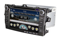 Touch Screen Car Dvd Player for Toyota Corolla 2012 with Radio Multimedia Navigation System