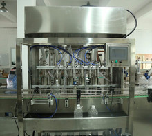 customized ce standard bottle liquid detergent filling machine price for small factory