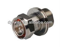 7-16 DIN Female to DIN 7/16 Male Bulkhead Adapter CA-BDFDM