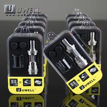 Uwell crown mechanical mod e-cigarettes sub ohm tank vaporizer pen 0.2ohm 0.5ohm ni200 0.15ohm for temperature controller