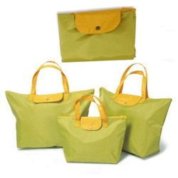 Factory price hot selling polyester folding shopping bag
