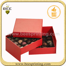 Wholesale Luxury Cardboard Paper Gift Packaging Chocolate Box