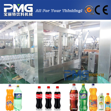 Automatic small pet bottle carbonated water /drink filling machine / equipment