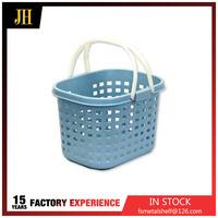 Hanging baskets plastic handle laundry basket