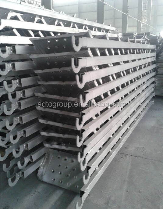 Aluminum Scaffold Stairs : Scaffolding aluminum step ladder for construction use
