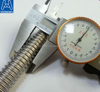 Stainless steel corrugated flexible plumbing metal hose for solar water heater