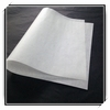 cast coated paper with white glassine liner in sheet