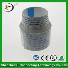 Flexible Flat Cable FFC Cable 30 Pin 1.0 Pitch Same Direction With Connector For TTL LCD Monitor 25cm