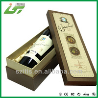 Luxury Custom High Quality clear wine glass packing box