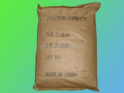 feed additive and construction material Calcium Formate 98% for hot sale