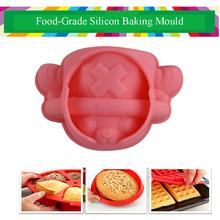 Single Hole Popular Silicon Cake Baking Mould for Dessert Decoration