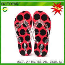 Hot selling fancy China factory cute cheap flip flops