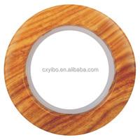 630-2 Yellow wood Luxury Plastic Curtain Eyelet Ring