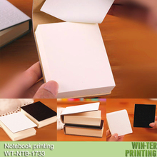 Wt-ntb-1733 organizador cuaderno del regalo con en blanco papel interior